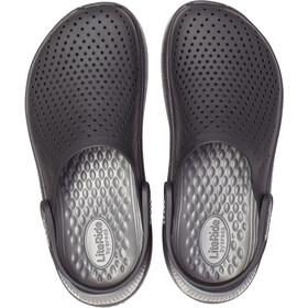 Crocs LiteRide Clogs zoccoli, nero/grigio